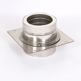 China Cold Drawn Fireproof Insulation Around Stove Pipe Base Wall Support Wide Application factory